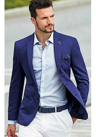 爽やかな装い が素敵な「紺 ...