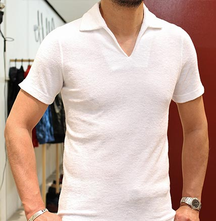パイルポロシャツ2